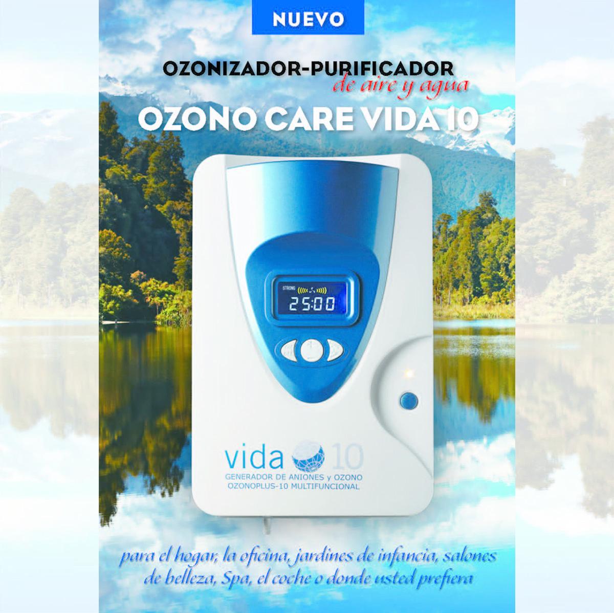Ozono care vida 10 saludidea - Vida 10 ozono ...